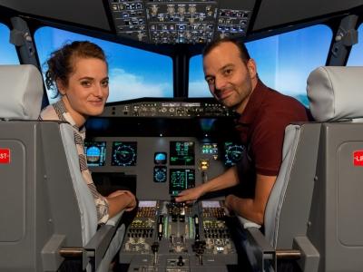 2 heures de simulateur de vol en avion de ligne, proche Nice - Vol personnalisable à bord d'un simul