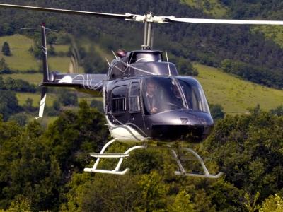 Balade en hélicoptère près de Valence - Survol du Massif du Vercors en hélicoptère, dans la Drôme (2