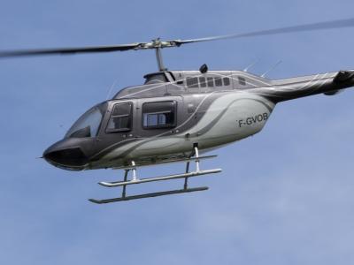 Balade en hélicoptère près de Valence - Survol des Montagnes Ardéchoises hélicoptère, dans la Drôme