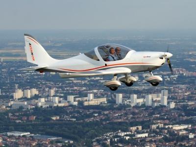 Baptême avion ultraléger (ULM multiaxes) avec initiation au pilotage - près de Lille dans le Nord (5