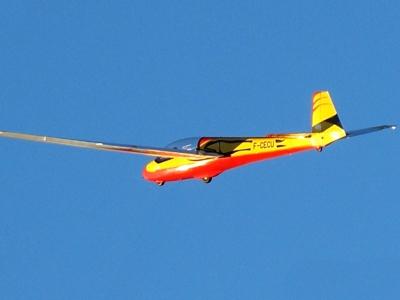 Bapteme planeur près de Chambery - Vol découverte du vol à voile en Savoie (73) - env 30-45 min